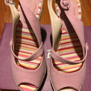 Bamboo Pink Shoes Size 6